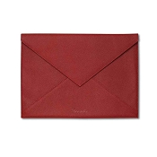 Pineider City Chic Leather Envelope Shaped Document Case - Large