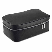 Pineider City Chic Leather Beauty Case
