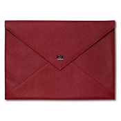 Pineider City Chic Leather Envelope Document Case - Large