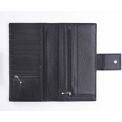 Pineider Country Leather Travel Document Holder