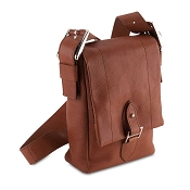 Pineider Country Leather Messenger Bag - Small