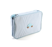 Pineider Baby Beauty Case - Large - Light Blue