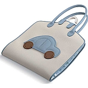 Pineider Baby Garment Bag - Light Blue
