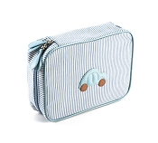 Pineider Baby Beauty Case - Medium - Light Blue