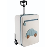 Pineider Baby Trolley Luggage Bag - Light Blue