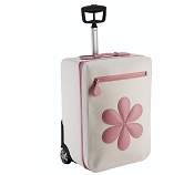 Pineider Baby Trolley Luggage Bag - Pink