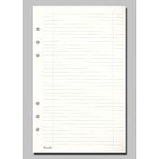 Pineider Ruled Paper Refill with holes