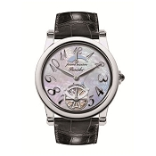 Pineider Automatic Ladies Watch - Black Leather Strap