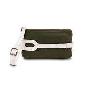 Pineider Small Leather Purse - Menthol White