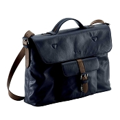 Pineider Soft Mood Leather Briefcase - Single Gusset