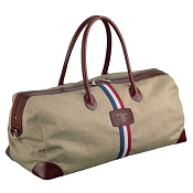 ST Dupont Iconic Beige Cosy Canvas Travel Bag