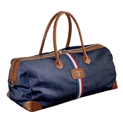 ST Dupont Iconic Blue Cosy Canvas Travel Bag