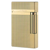 ST Dupont Ligne 2 Gold Diamond Head 1.5 mm Lighter