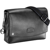 ST Dupont Star Wars Leather Laptop Messenger Bag - Black
