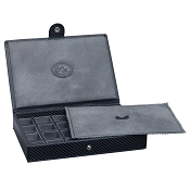 Underwood Carbon Fiber Cufflink Box - 48 Sets