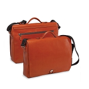 Underwood Italian Leather Soft Satchel Briefcase
