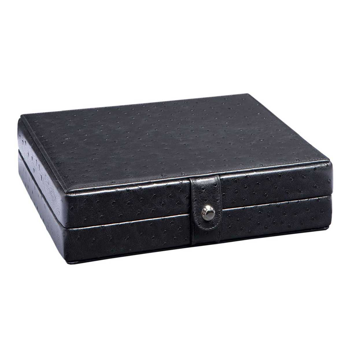 Exceptionnel Underwood 10 Watch Leather Storage Box Features A Micro Fiber Interior To  Inhibit Oxidation.