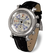 Zannetti Impero Gladiator Palladium Chrono Watch
