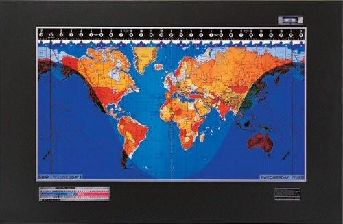 Geochron world clock original kilburg gumiabroncs Image collections