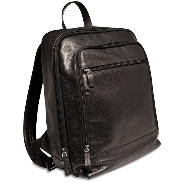 Georges Soho Leather Laptop Compatible Backpack