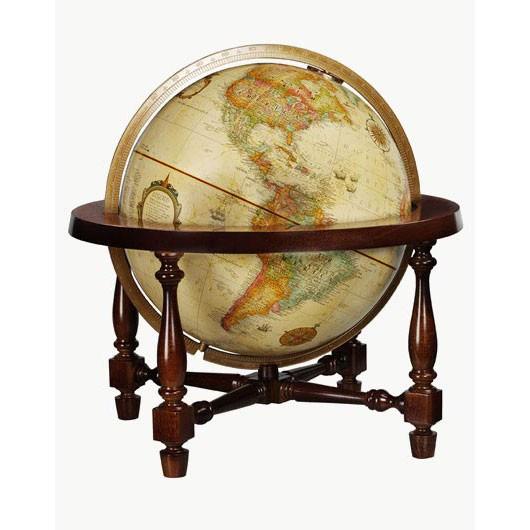 - Replogle Colonial Antique Desk Globe