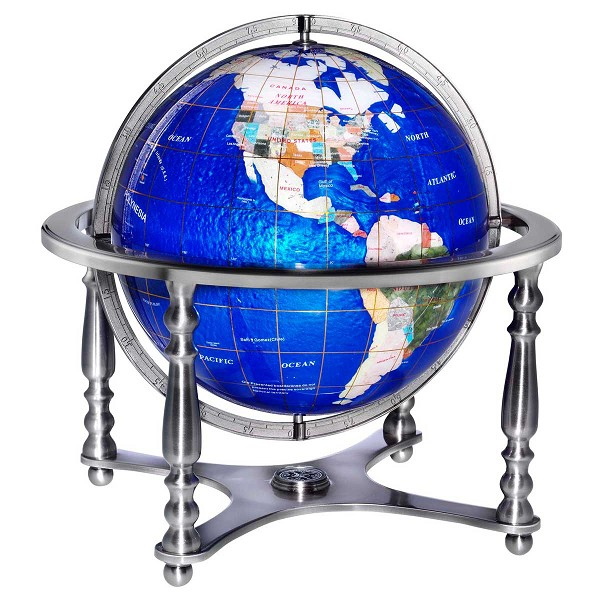 Replogle Gemstone Globe Compass Jewel