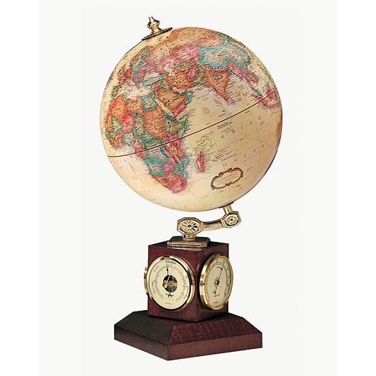 Replogle Weather Watch Antique Desk Globe - Weather Watch Antique Desk Globe