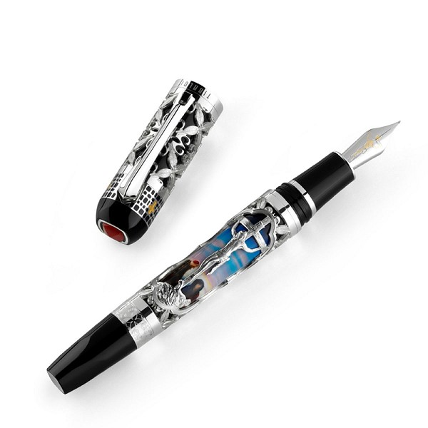 Tibaldi Jesus Fountain Pen - Limited Edition