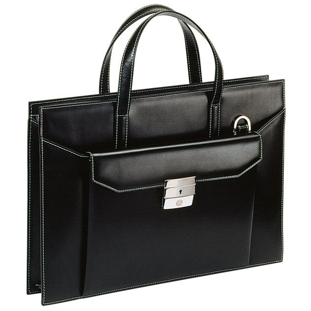 Caran d'Ache Leather Women's Briefcase