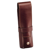 Caran d'Ache Leather Two Pen Holder