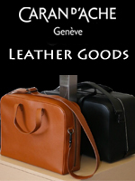 Caran d'Ache Leather Goods | Switzerland