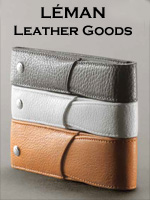 Caran d'Ache Leman Collecton Leather Accessories