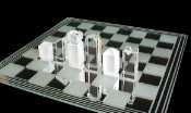 Quadrant Crystal Chess Set