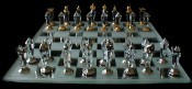 Swarovski Crystal Staunton Chess Set (Medium)