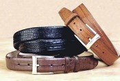 Caiman (Crocodile) Belt