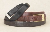Matte Alligator Belt