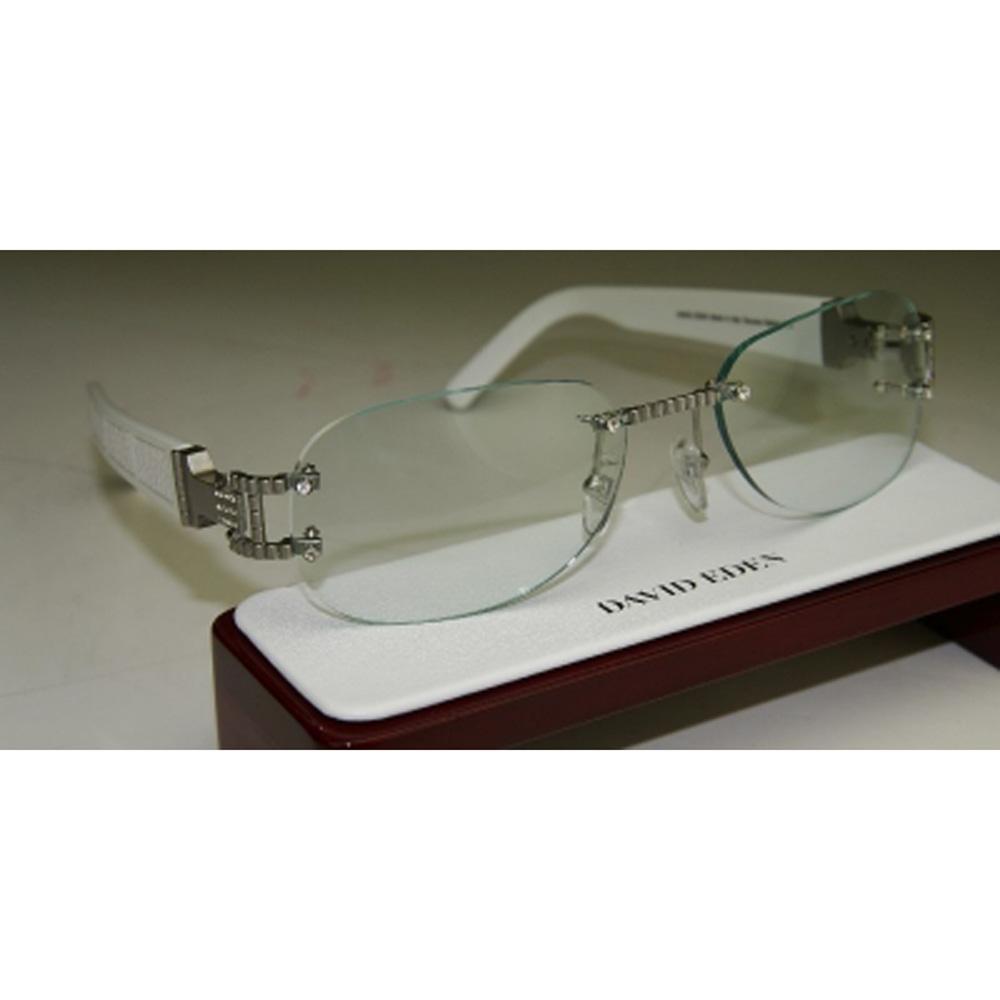 1fc2a5247b Idol White Luxury Eyewear Frame by David Eden