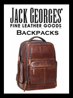 Jack Georges Men's Leather Backpacks