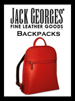 Jack Georges Women's Leather Backpacks