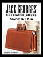 Jack Georges Made in the USA Leather Goods Collections