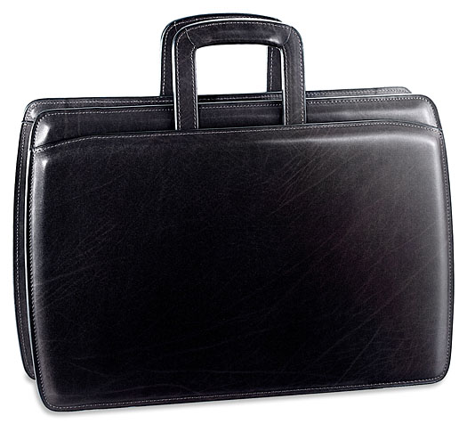 Jack Georges Elements Double Gusset Top Zip Briefcase