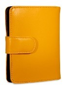 Jack Georges Milano Tri-fold Ladies Leather Wallet/French Purse