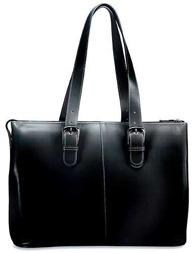 Jack Georges Milano Madison Avenue Ladies Leather Business Tote