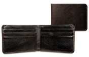 Jack Georges Prestige Slim Mens Leather Wallet