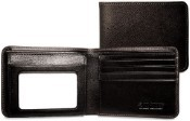 Jack Georges Prestige Bi-Fold with Flap Mens Leather Wallet