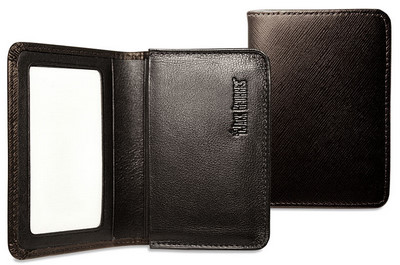 Jack Georges Prestige Leather Business Card Holder