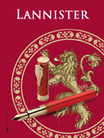 Montegrappa Game of Thrones Lannister Pens