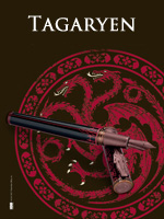 Montegrappa Game of Thrones Targaryen Pens