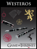 Montegrappa Game of Thrones Westeros Pens
