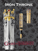 Game of Thrones - Iron Throne Limited Edition Pens
